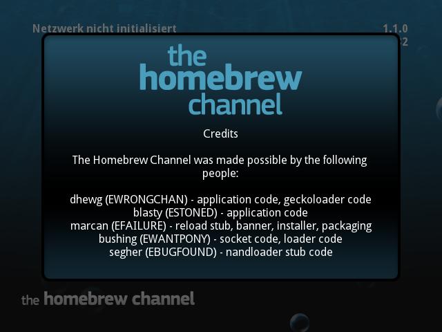HackMii Installer – The Homebrew Channel & BootMii | WiiDatabase