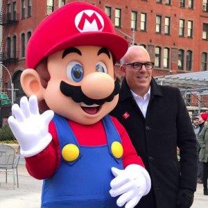 Seltener Anblick: Mario und Bowser