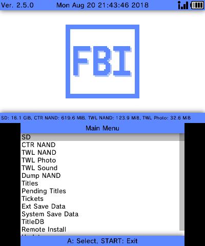 FBI   WiiDatabase