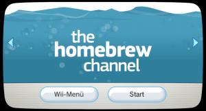Der Homebrewkanal für die Wii ist der bekannteste Homebrew Launcher.