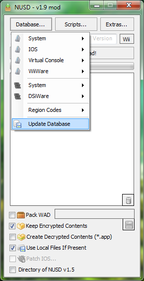 NUS Downloader | WiiDatabase