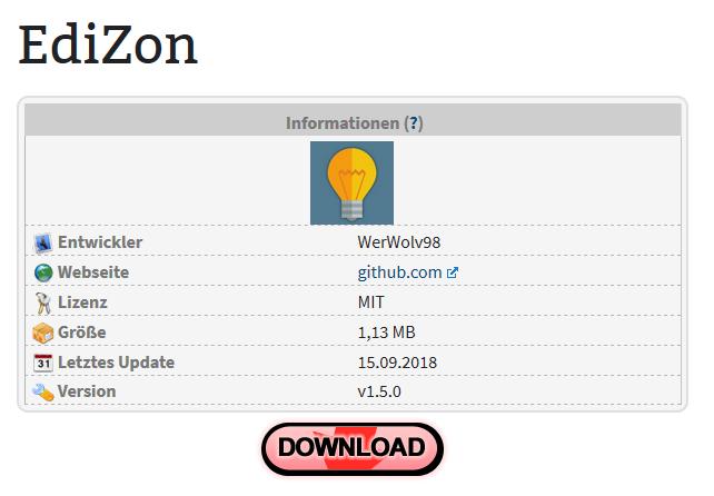 Die neue Download-Übersicht