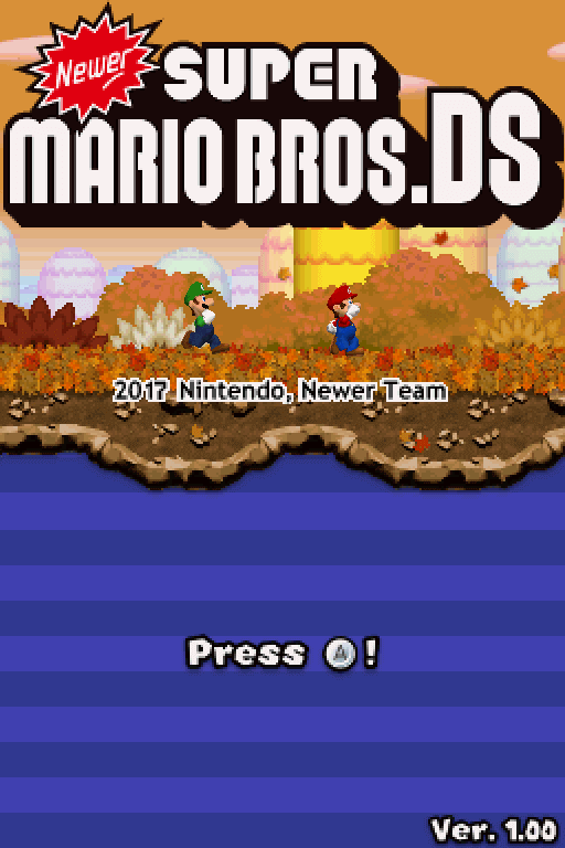 Newer Super Mario Bros  DS | WiiDatabase