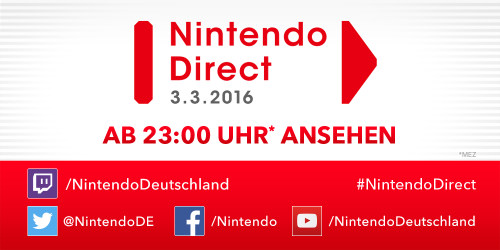 Nintendo Direct März 2016 500px
