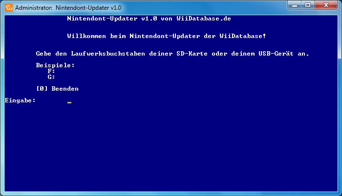Nintendont-Updater