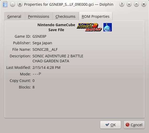 ROM Properties | WiiDatabase