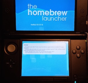 3DS-Homebrew-Launcher