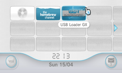 USB Loader GX Forwarder