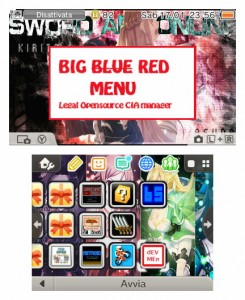 big red menu