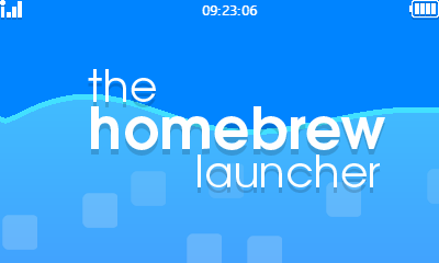 homebrew launcher screenshot