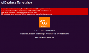 Der WiiDatabase Marketplace wurde eingestellt