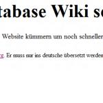 Schließung des Wikis am 13. Juli 2012