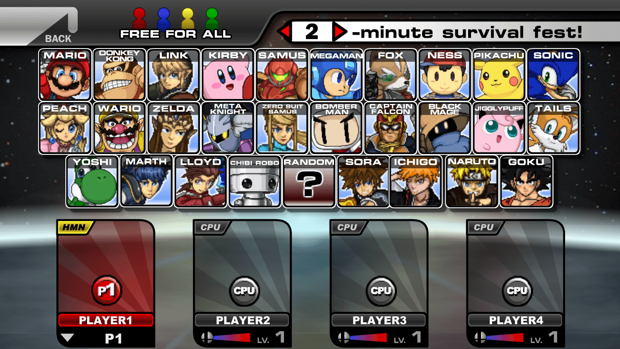 super smash flash 2 3