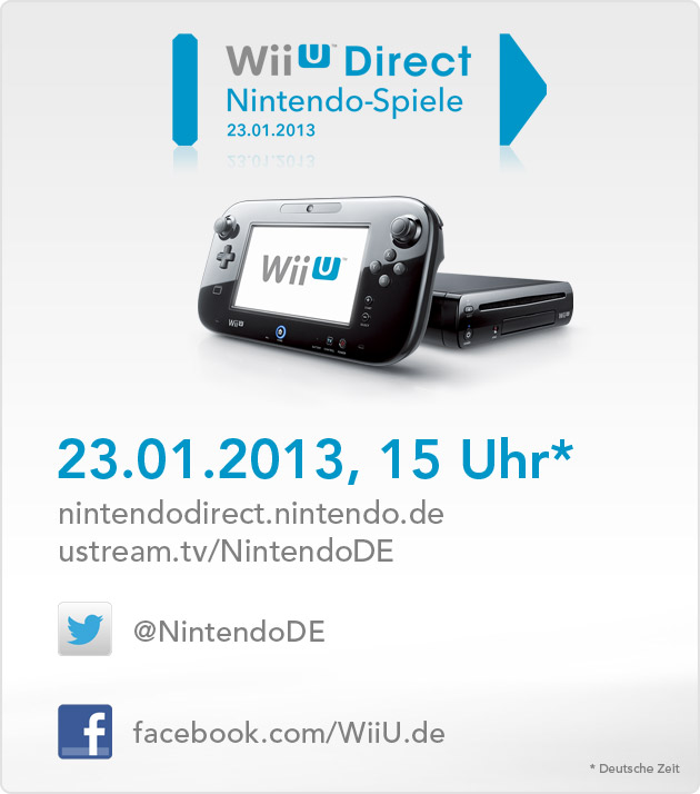 Am 23. Januar enthüllt Nintendo wieder neue Wii U Spiele
